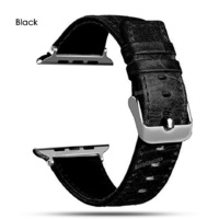 Luxury Leather Single Tour Band Strap Bracelet Belt For iwatch Apple Watch