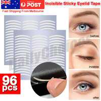 96pcs Eyelid Tape Adhesive Tool Eye Lift Strips Lace Stickers Double AU POST