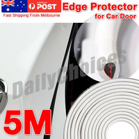 5M SUV Car Door Moulding Rubber Scratch Protector Strip Edge Guard Trim DIY